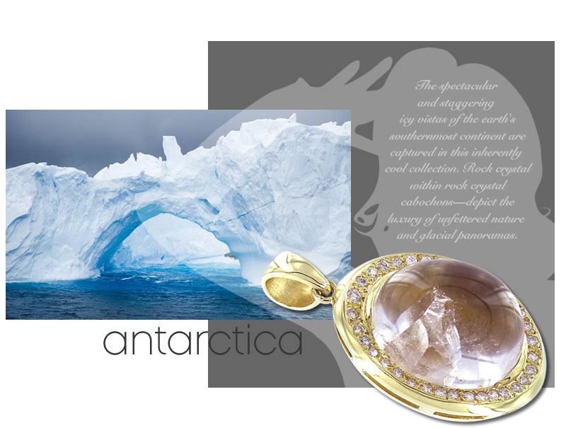 18kt fine jewelry antarctica collection